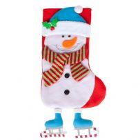Deluxe Snowman Stocking